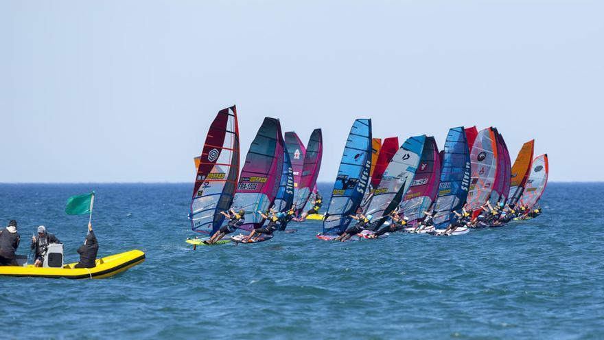Goyard es referma líder al Campionat del Món de Windsurf Gran Premi Catalunya-Costa Brava