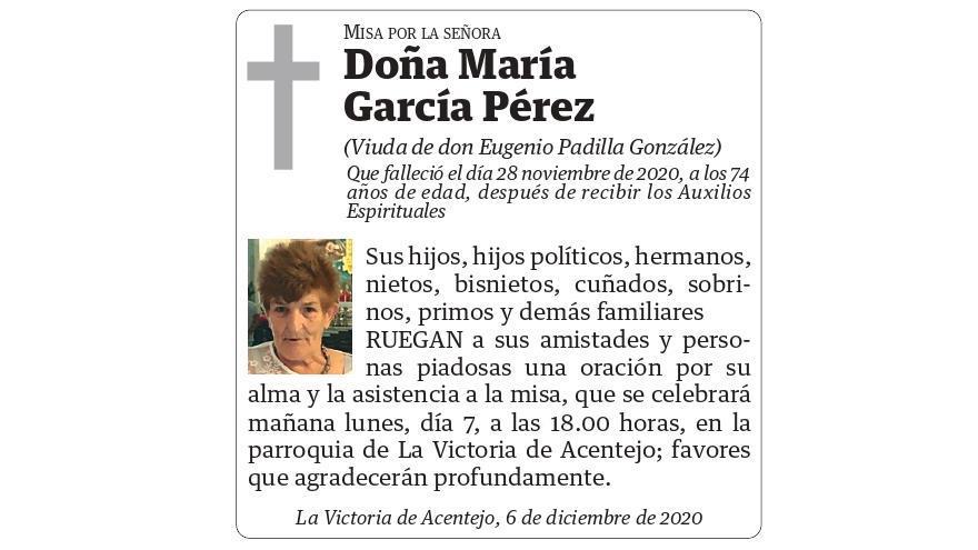 María García Pérez