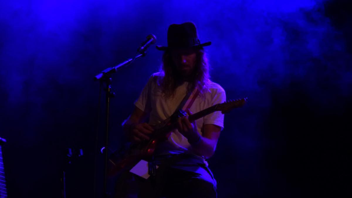Concert de Macaco a la Plaça Catalunya