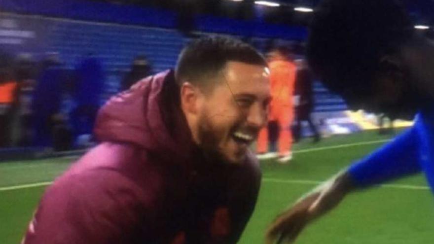 Hazard desespera al madridismo por su imagen tras el partido