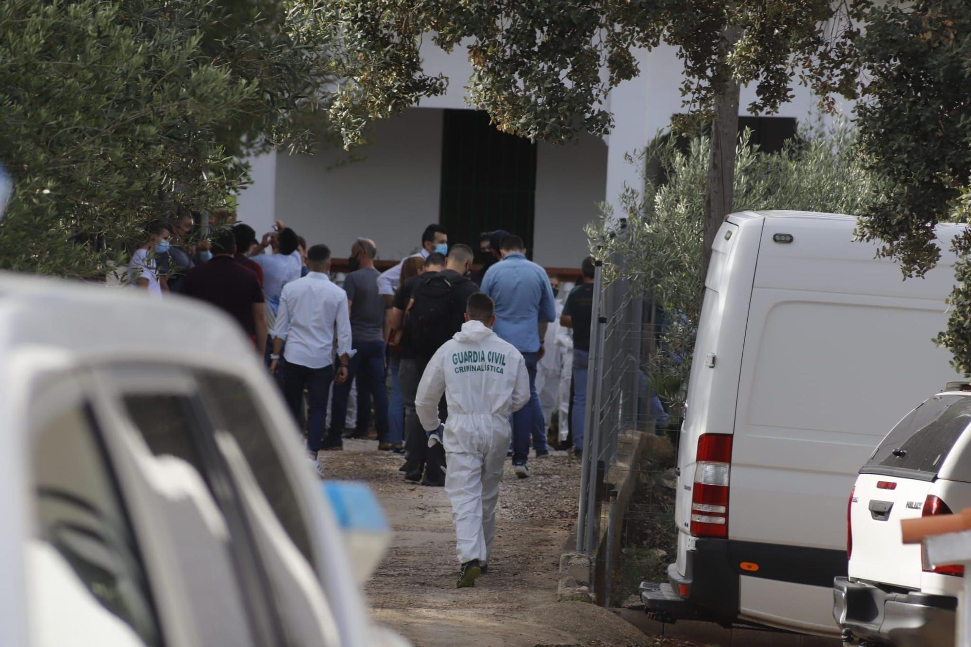Desaparición Wafaa: Rastreo con el detenido en busca de la joven