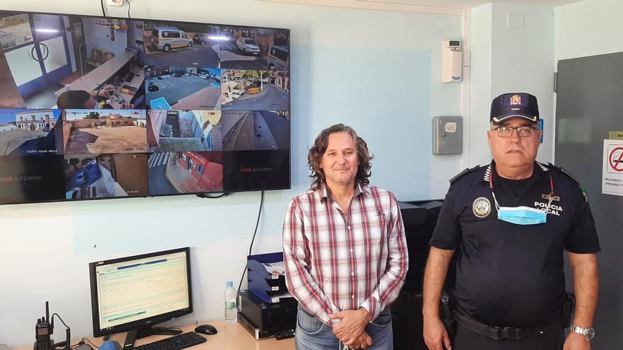 Meliana mejora el control de cámaras de la Policía Local
