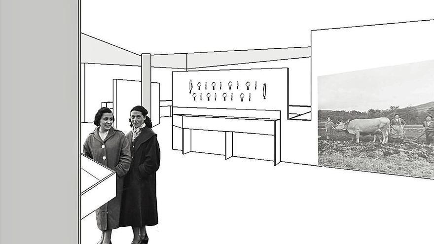 El Centro Etnográfico de Terra de Montes inicia la cuenta atrás para reabrir en su nueva sede de Soutelo