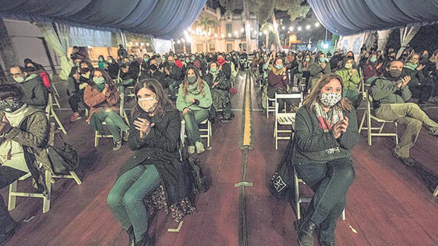 La Mediterrània celebra amb el públic l'edició més incerta