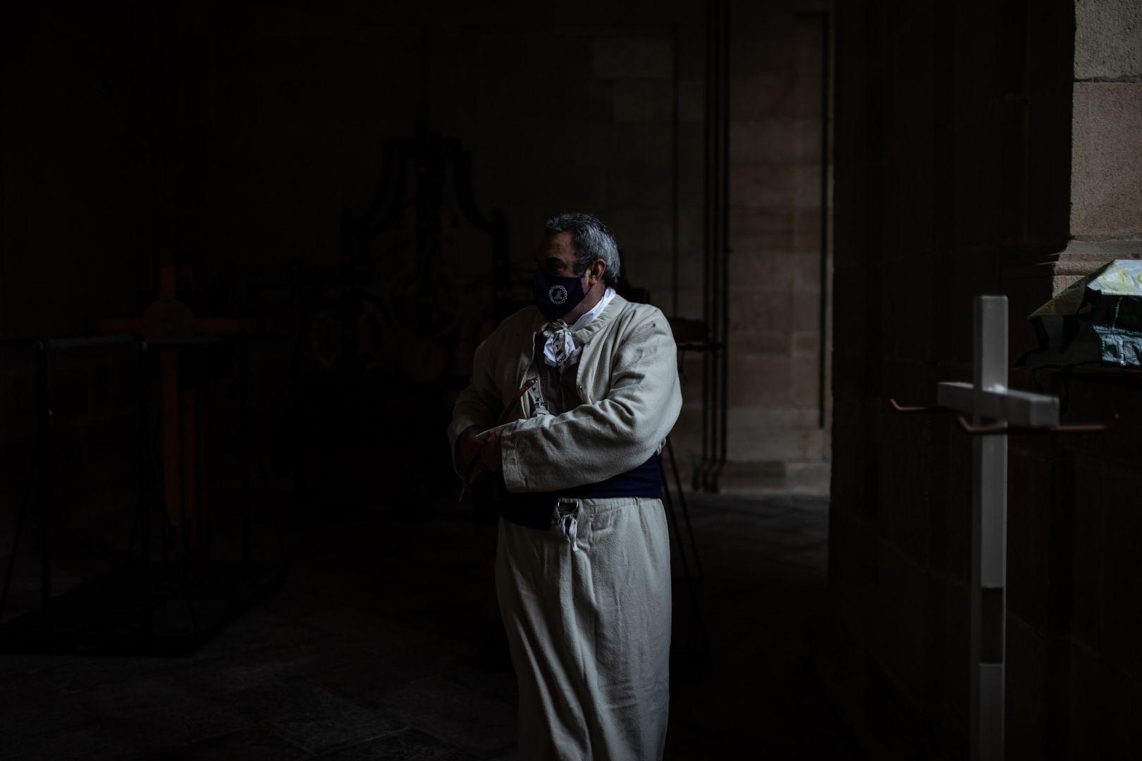 Acto de Jesús del Via Crucis en Zamora