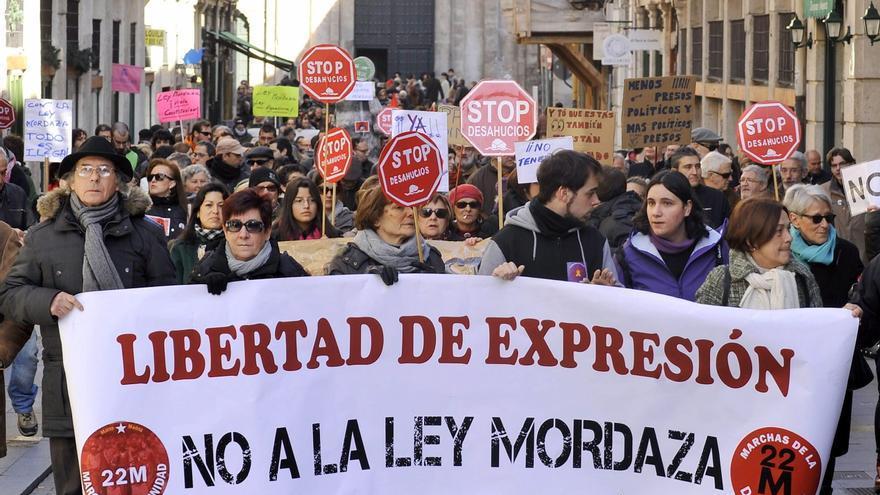 PSOE y Podemos avanzan en la modificación de la ley mordaza, paralizada desde 2019