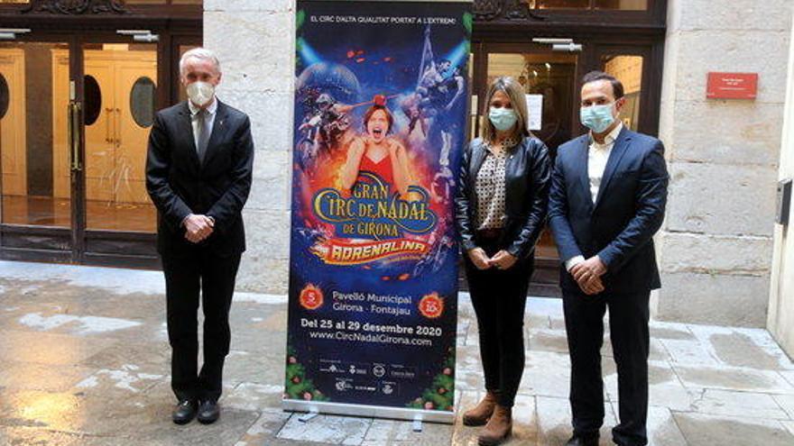 El Gran Circ de Nadal de Girona amplia funcions i confia tenir més aforament