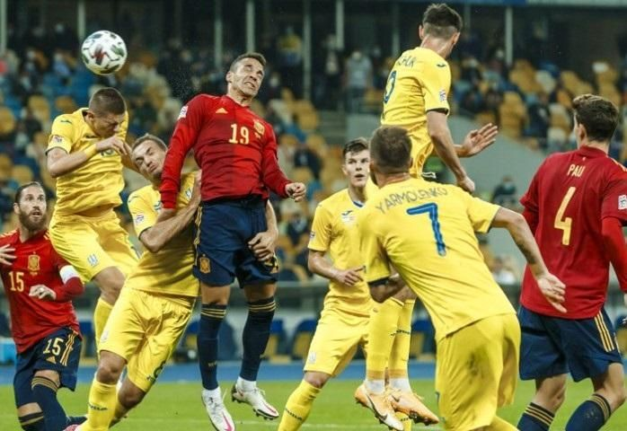 UEFA Nations League: Ucrania - España