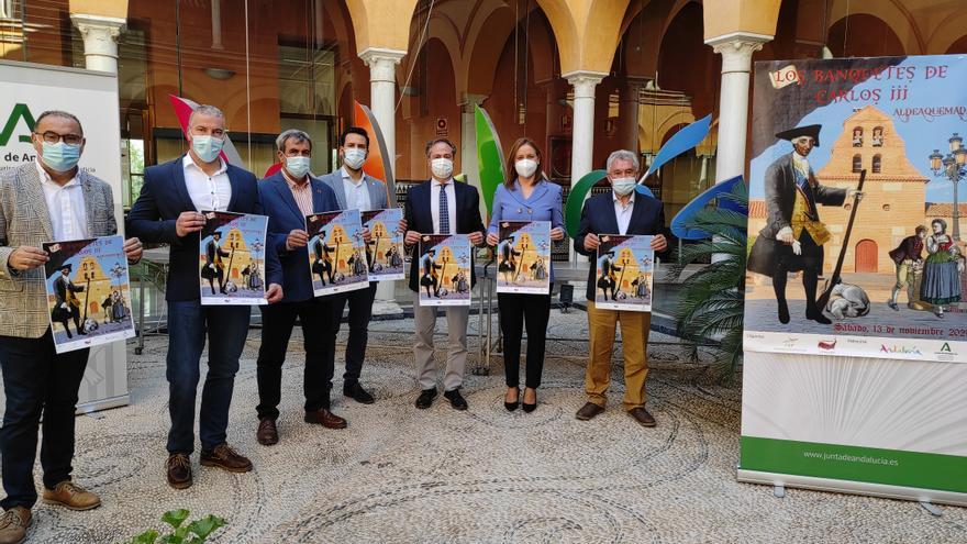 'Los Banquetes de Carlos III', un nuevo atractivo para reforzar el turismo interior en Sierra Morena