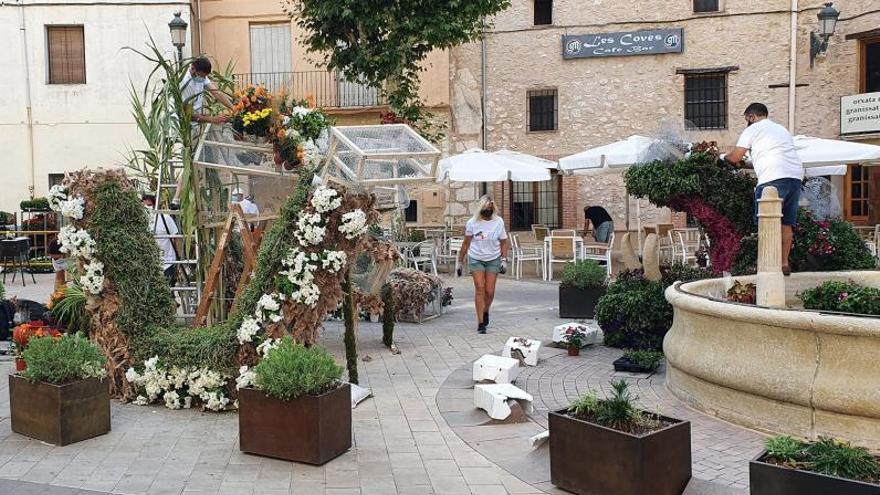 Bocairent y Quatretonda lucen montajes florales impulsados por la Diputació