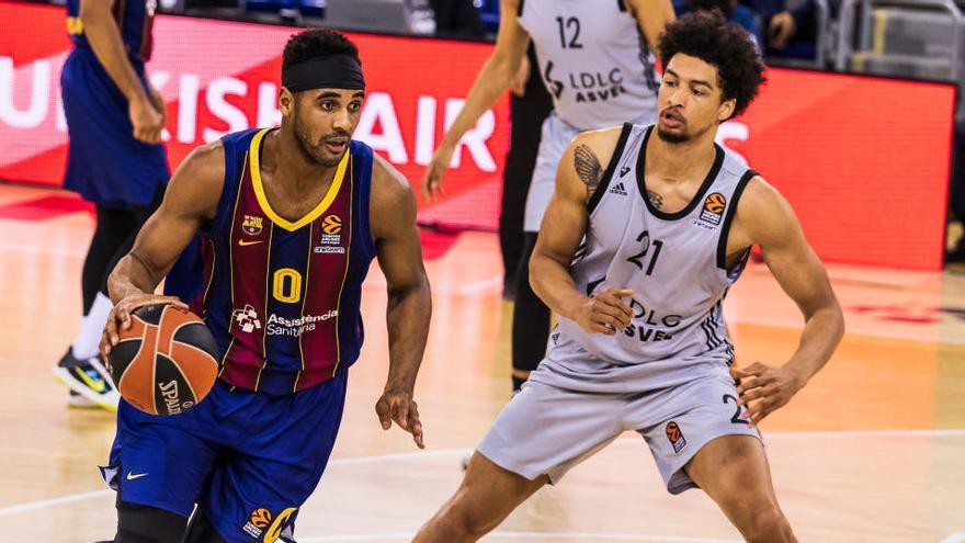 El Barça vuelve a tropezar con el Asvel Villeurbanne