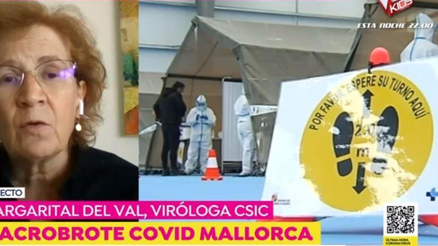 """Margarita del Val sobre el macrobrote de Mallorca: """"es un ejemplo de la nueva fase de la pandemia"""""""