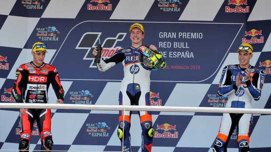 Primer podio del mallorquín Augusto Fernández en el Mundial