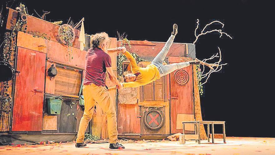 Circo y teatro el sábado en Santa Eulària con el espectáculo 'Distans'