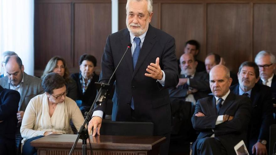 """Griñán recurrirá la condena de los ERE por """"error en los hechos probados"""""""