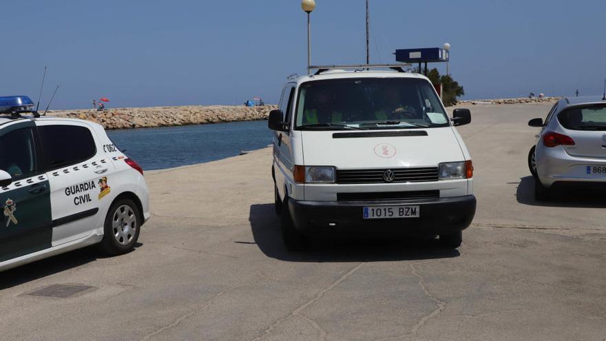 Encuentran en Oliva el cadáver del bañista que desapareció el martes en la playa de Dénia