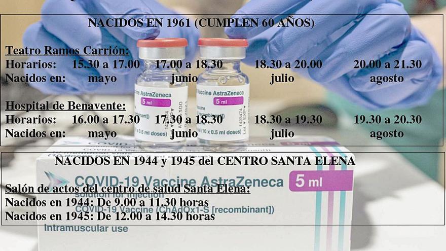 Sanidad prevé que lleguen esta semana a Zamora casi diez mil vacunas más