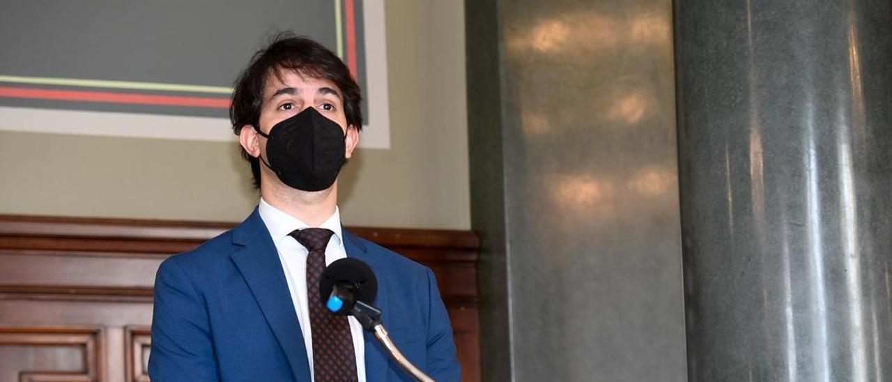 El presidente de la ZEC, Pablo Hernández