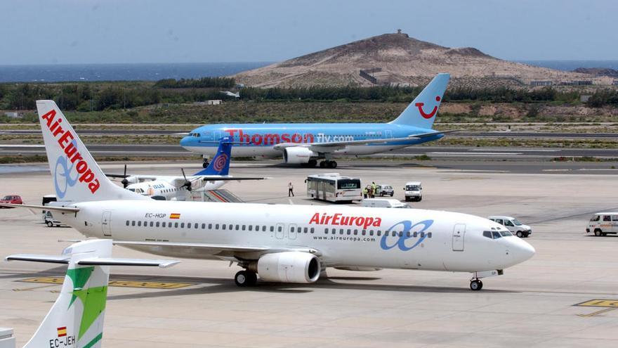 Air Europa comienza en octubre a operar vuelos interinsulares