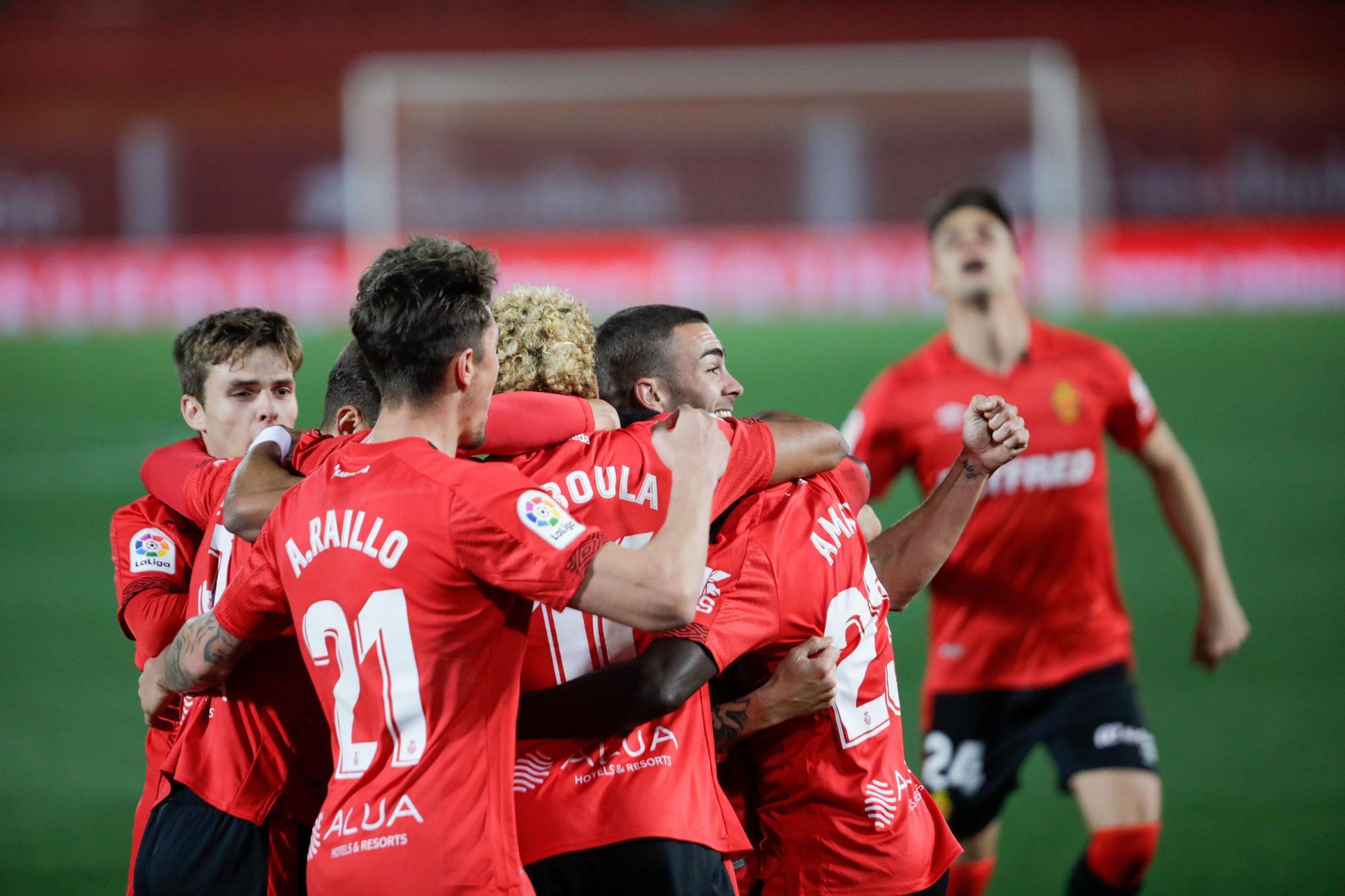 Amath coloca líder al Mallorca en el descuento (1-0)