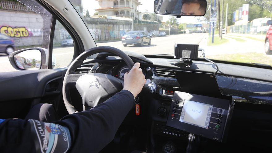 """Nuevo """"camuflaje"""" para el radar de la Policía Local de Vigo"""