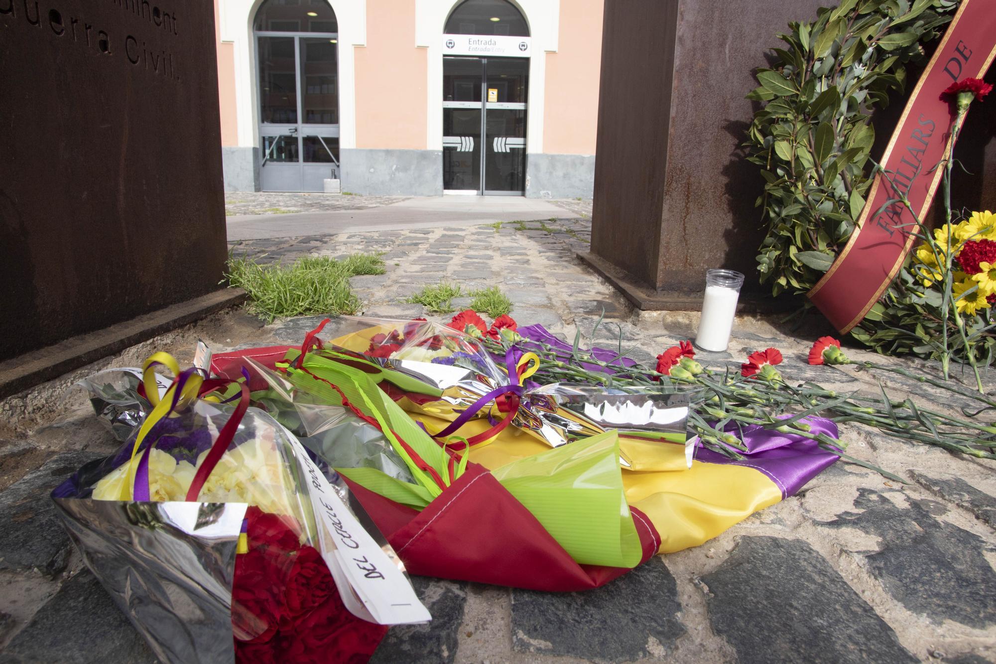 Homenaje a las víctimas del Bombardeo de Xàtiva de 1939