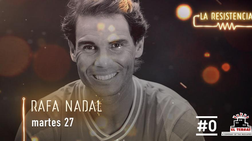 Rafa Nadal es esta noche el invitado sorpresa de David Broncano en 'La Resistencia'