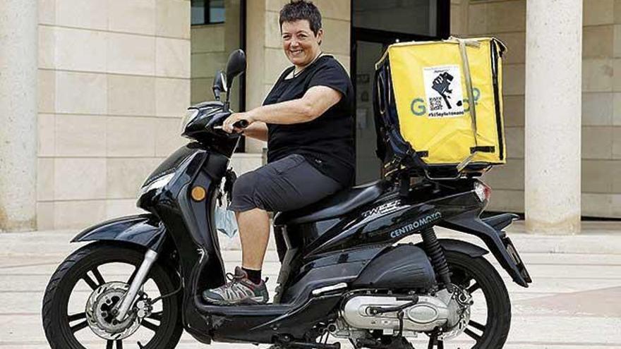 Los 'riders' de Mallorca exigen participar  en la nueva ley laboral