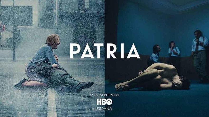 """Fernando Aramburu ve un """"desacierto"""" el cartel de la serie 'Patria'"""