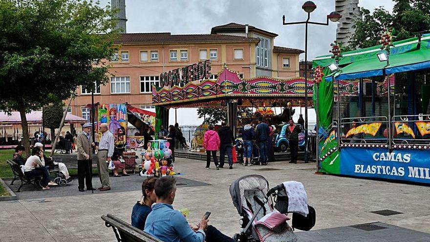 Langreo busca una ubicación para el ferial de las fiestas de San Pedro