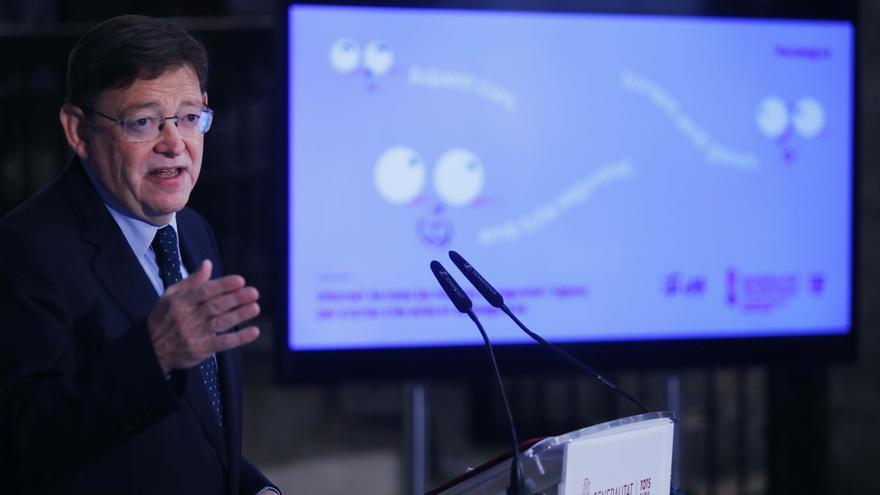 """Puig critica el """"alineamiento partidista"""" de las CCAA del PP por la ley Celaá"""