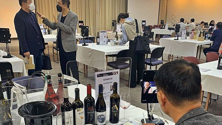 Siete bodegas de la Región participan en una cata virtual con Corea del Sur