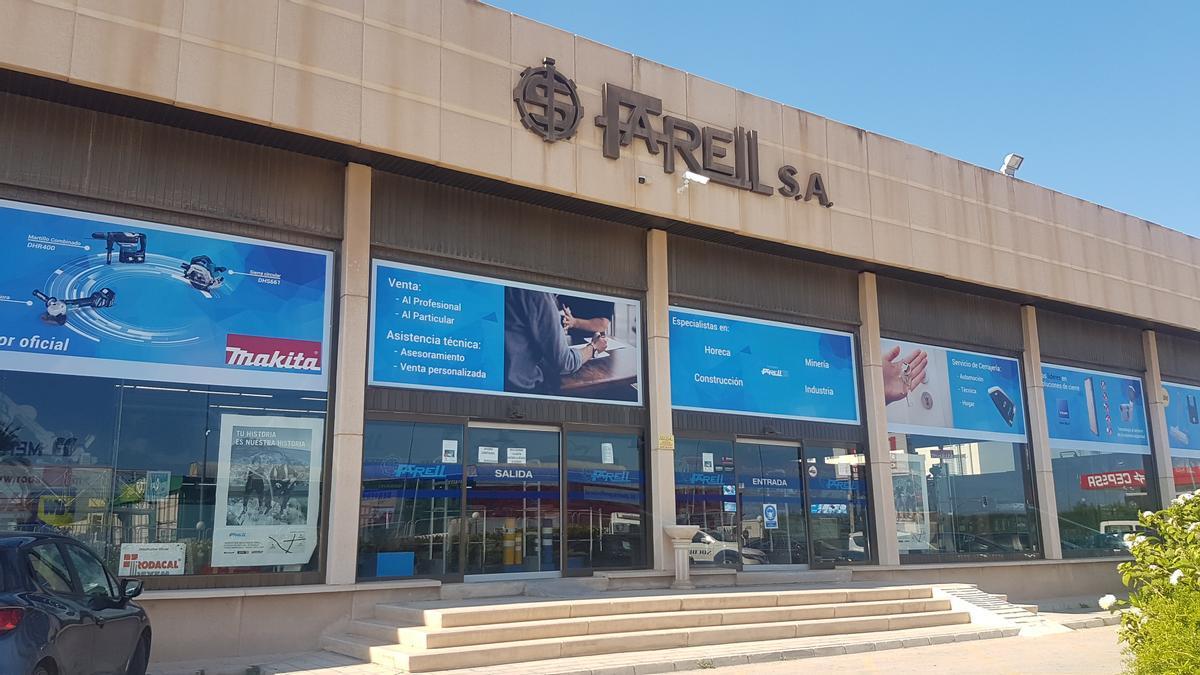 Imagen de las istalaciones de Farell ubicadas en Alicante.