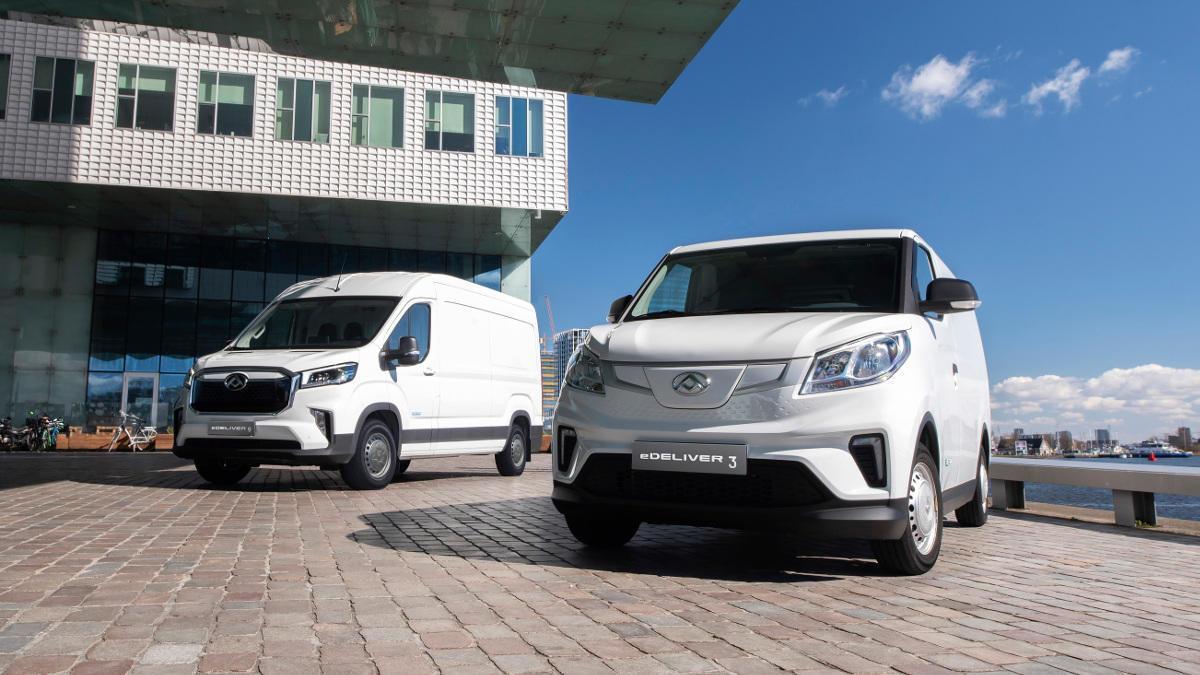 Las furgonetas Maxus llegan a España con una gran apuesta eléctrica