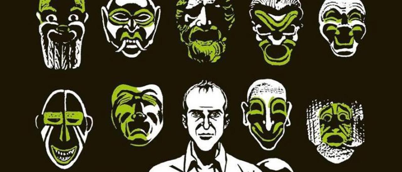 Viñetas del cómic  «Yo, mentiroso» del guionista Antonio Altarriba y el dibujante Keko. |   ALTARRIBA Y KEKO