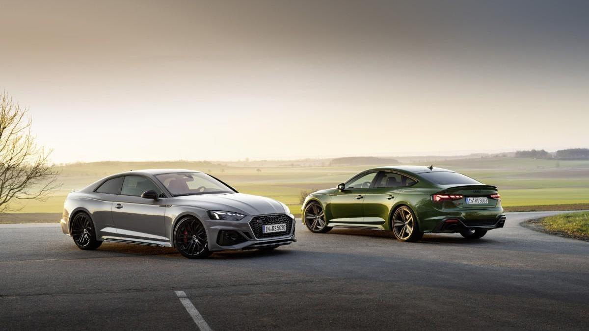 Nuevos Audi RS 5 Coupé y RS5 Sportback 2020: más atractivos y deportivos