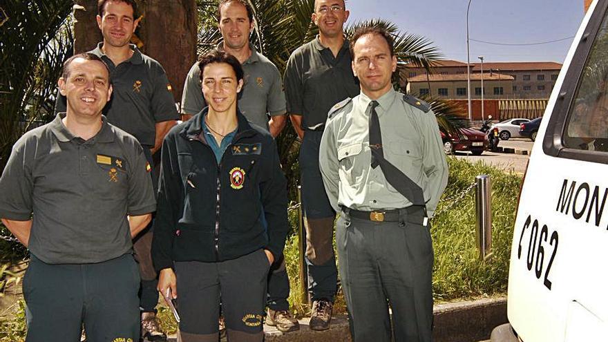 La primera jefa de la historia de la Guardia Civil aprendió a romper techos de cristal en la montaña asturiana