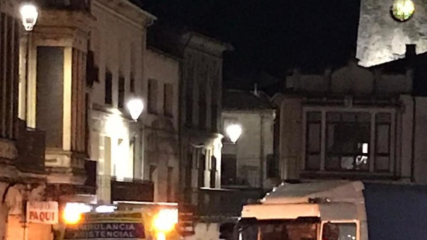 Fallece un peatón atropellado en la travesía de la N-122 en Alcañices