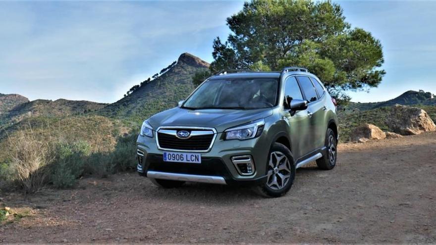 Probamos a fondo el Subaru Forester 2020 Eco Hybrid