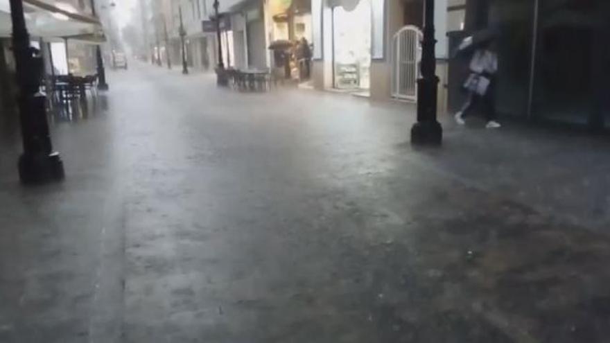El temporal de lluvias deja más de 100 l/m2 en Barx y Miramar