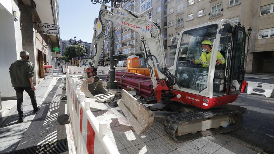 Tráfico en Vigo: cambios en García Barbón durante dos meses