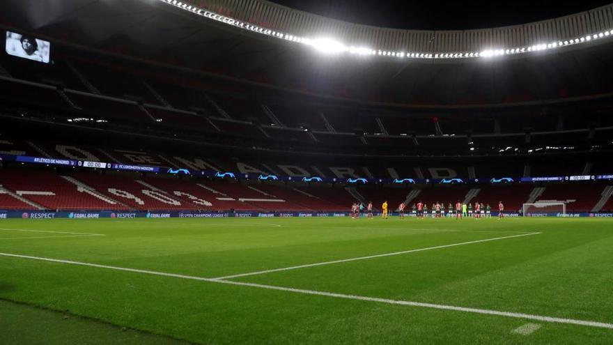 El Atlético se complica los octavos ante el Lokomotiv