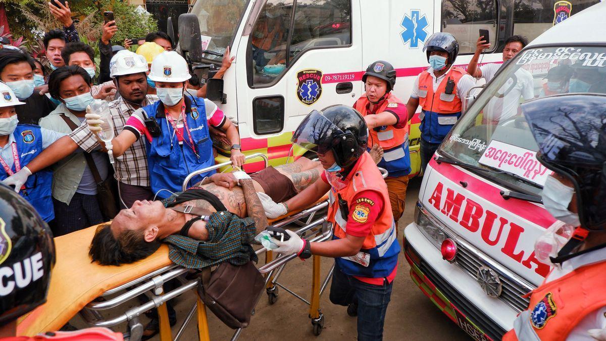 Dos muertos por disparos policiales en Birmania