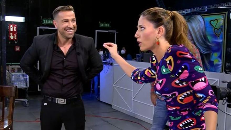 "Rafa Mora se va del plató de 'Sálvame' por un comentario de Nuria Marín sobre Kiko Rivera: ""¿Te has ofendido?"""