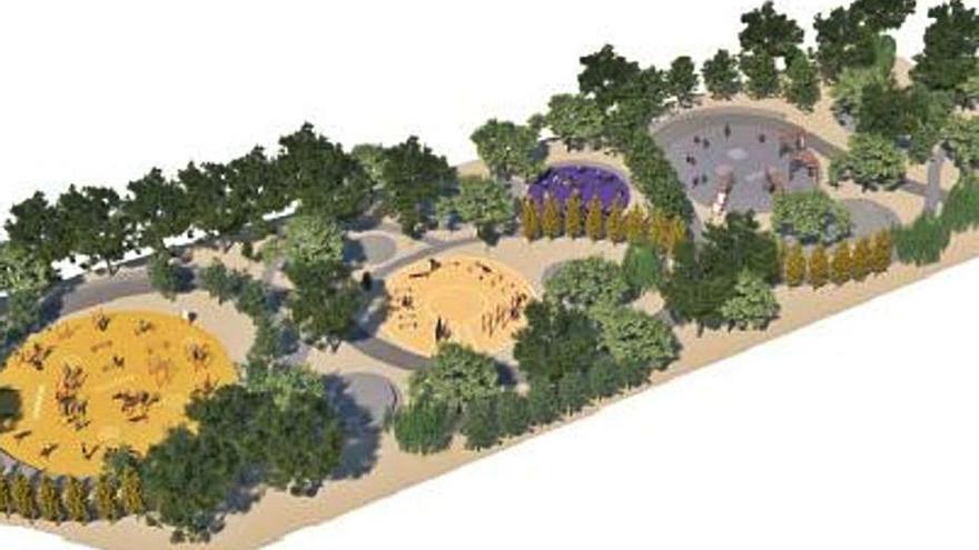 Licitado el proyecto para una zona de deporte al aire libre en Teatinos
