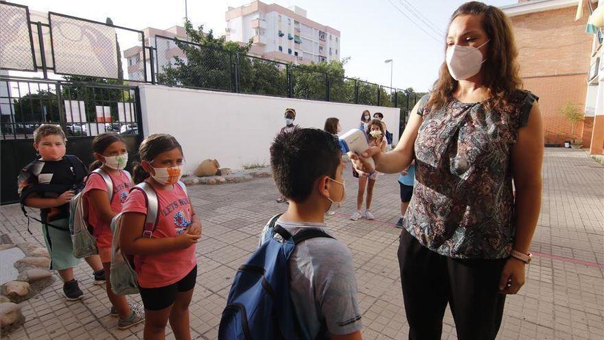 Medidas anticovid para vuelta al cole en Córdoba