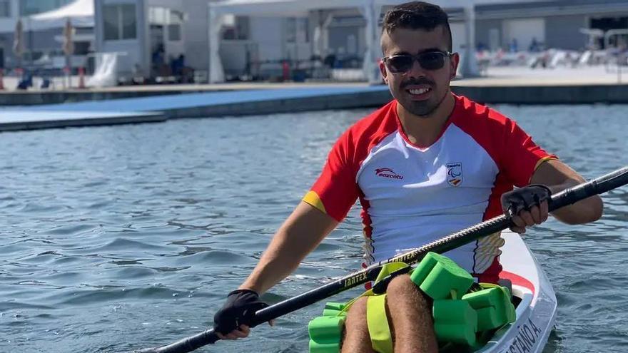 Adrián Castaño se estrena en los Juegos Paralímpicos de Tokio
