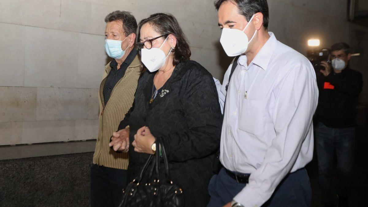 Maje y Salva, tras ser declarados culpables de asesinato