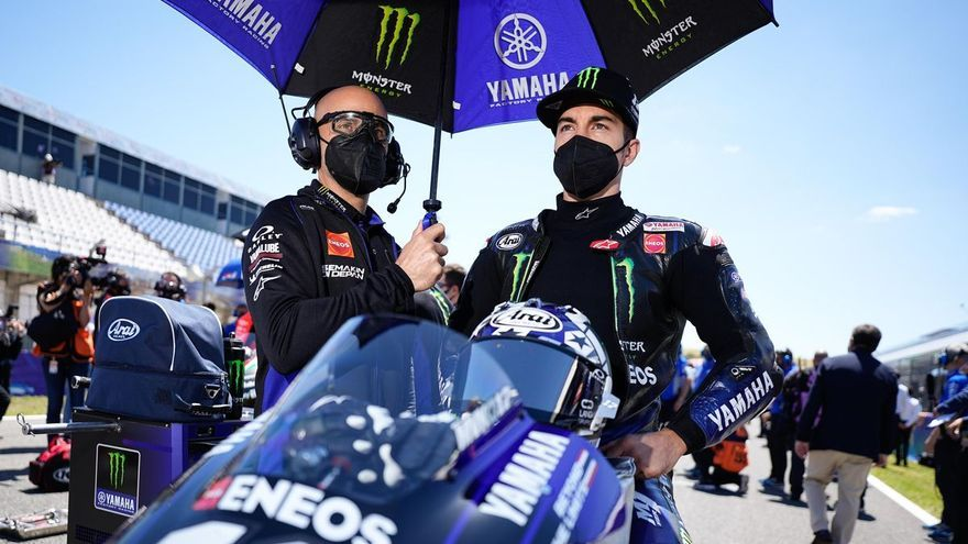 Viñales probará la Aprilia de MotoGP el 31 de agosto