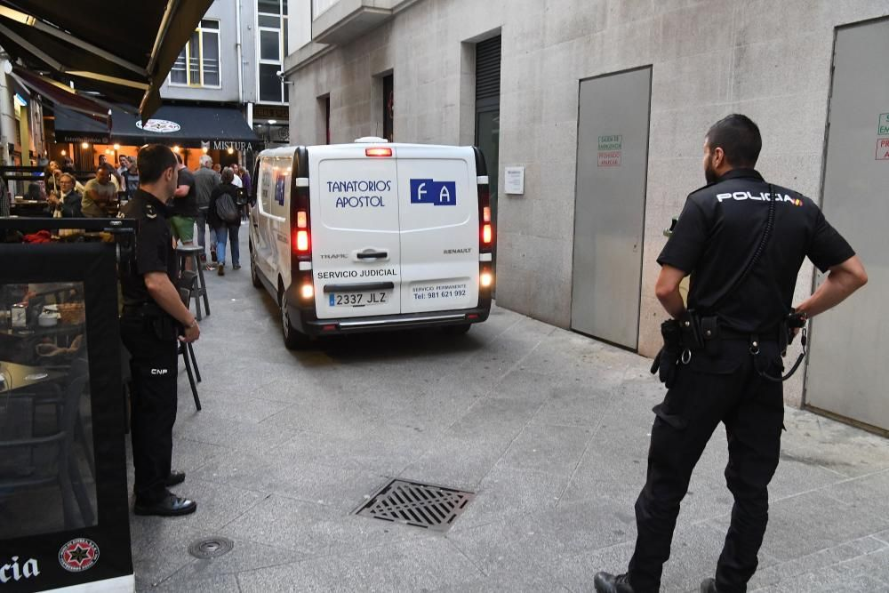 Se entrega tras matar a su esposa en A Coruña